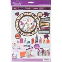 Hunkydory Special Days A4 Topper Set-Time For New Stationery