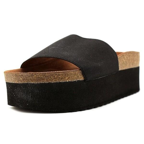 Sixtyseven 76711 Women Plata/Black Sandals
