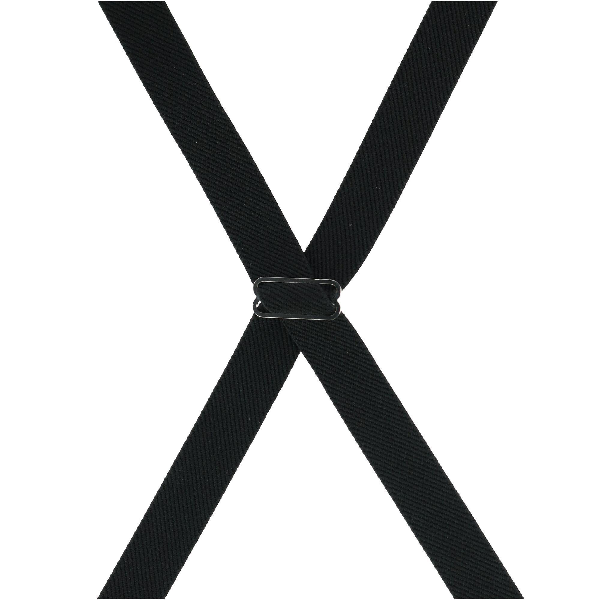 Ascentix Womens Basic Solid Color Clip-End Suspenders