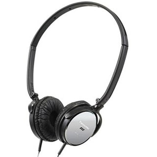 Panasonic Lightweight Noise Cancelling Headphones with Travel Pouch (Black)