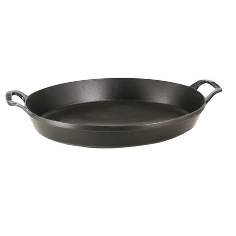 Staub Cast Iron 14.5-inch X 11.2-inch Oval Baking Dish - 14.5x11.2-inch