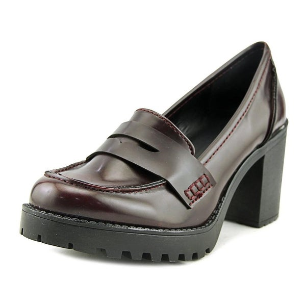 Dolce by Mojo Moxy Jukebox Women Round Toe Synthetic Burgundy Loafer