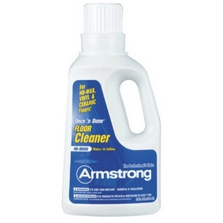 Armstrong 00330124 Once 'N Done Concentrated Floor Cleaner, 1 Quart