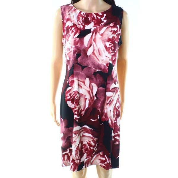 20c006c6 Shop Connected Apparel Rosewood Womens Floral Sheath Dress - Free ...