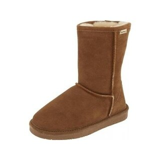 Bearpaw Womens Emma Short Casual Boots Suede Lined