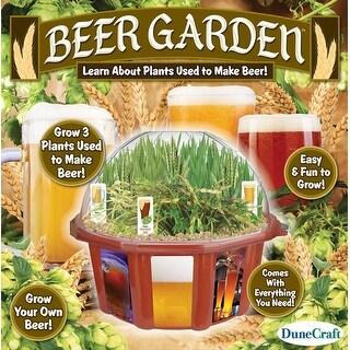 Dunecraft Beer Garden Domed Terrarium - multi
