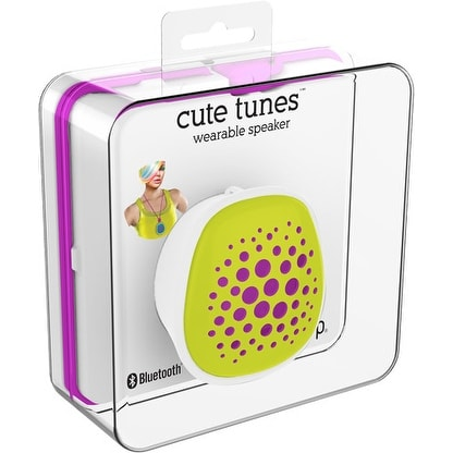 Shop Ihip Cute Wearable Bluetooth Speaker Green Free Shipping On
