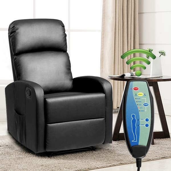 Costway Mage Recliner Chair Pu