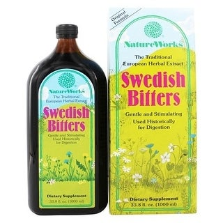 Natureworks Swedish Bitters Liquid Extract 33.8-ounce