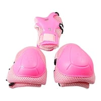 Outdoor Sports Elbow Knee Pads Wrist Guard Protective Gear Set for little girls Kids