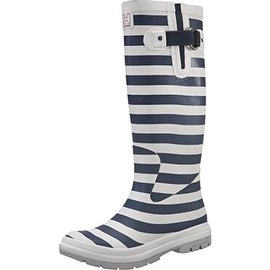 Helly Hansen Womens Veirland 2 Graphic Rubber Striped Rain Boots - 10 medium (b,m)