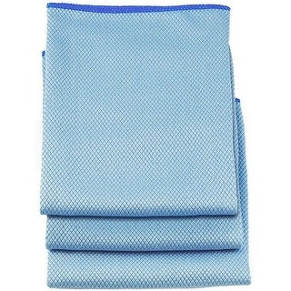 "Unger 966900 Microfiber Cloths, 18"" x 18"", 3/Pack"