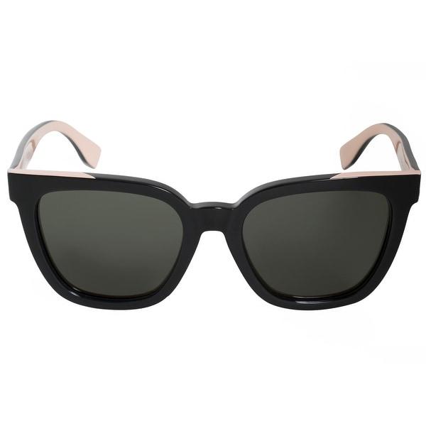 3508b8cda6f15 Shop Fendi Square Sunglasses FF0121FS MG1 X1 53 - Free Shipping ...