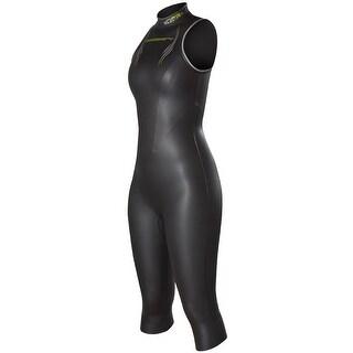 NeoSport Triathlon 5/3mm Women's NRG Sleeveless Wetsuit- Black/Lime