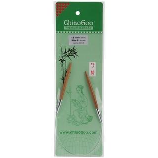 "Bamboo Circular Knitting Needles 12""-Size 8/5Mm"