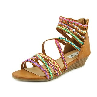 Steve Madden JTracey Women Open Toe Synthetic Multi Color Gladiator Sandal