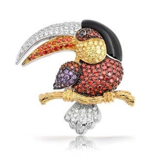 Bling Jewelry Multi Color Pave CZ Rhodium Plated Tucan Brooch Pin|https://ak1.ostkcdn.com/images/products/is/images/direct/cf83443f8fdce637bf1cb1b41f5e2c964a772700/Bling-Jewelry-Multi-Color-Pave-CZ-Rhodium-Plated-Tucan-Brooch-Pin.jpg?impolicy=medium