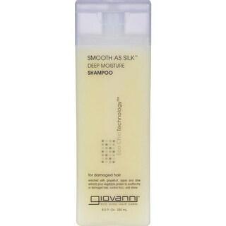 Giovanni Hair Care Products - Smooth As Silk Deep Moisture Shampoo ( 3 - 8.5 FZ)