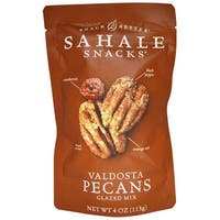 Sahale Snacks Valdosta Pecans Glazed - Mix - Case of 6 - 4 oz.