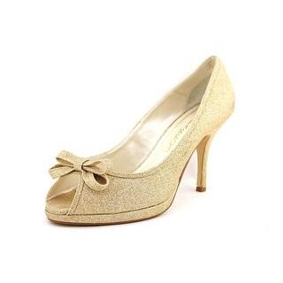 Caparros Impulse Peep-Toe Synthetic Heels