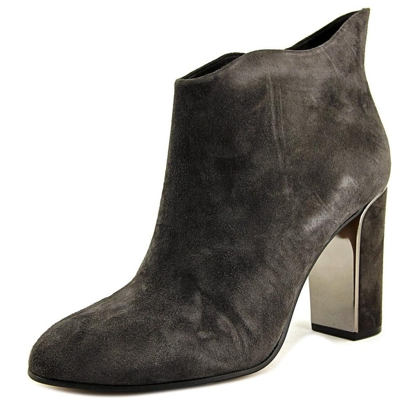 VC John Camuto Grace Women Round Toe Suede Gray Bootie