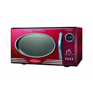 NostalgiaProductsGroup Retro Series .9 Cf Microwave Oven - Red