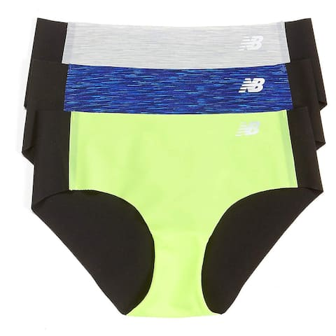 New Balance Womens Laser Hipster Panty 3-Pack SZ: S