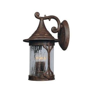 """Designers Fountain 20931-CHN 4 Light 11"""" Cast Aluminum Wall Lantern from the Canyon Lake Collection"""