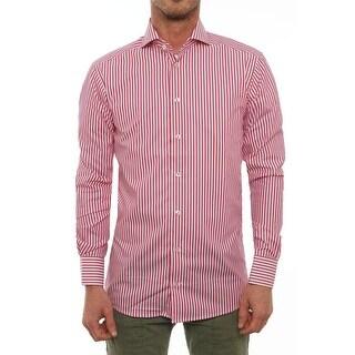 Eton Long Sleeve Collared Dress Shirt Men Regular Dress Button