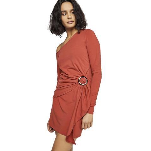 Free People Womens Frankie Mini Dress Small Copper