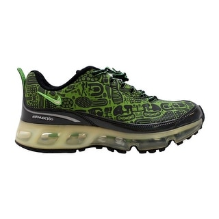 half off a1272 f4176 Shop Nike Air Max 360 Rejuvenation Black/Green Bean-White 313520-031 Men's  - Free Shipping Today - Overstock - 20139454