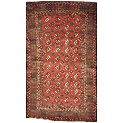 Handmade One-Of-A-kind Tribal Balouchi Wool Rug (Afghanistan) - 3'9 x 6'5