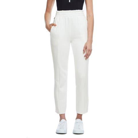 Good American Good Sweats The High Waist Sweatpants, White, 1