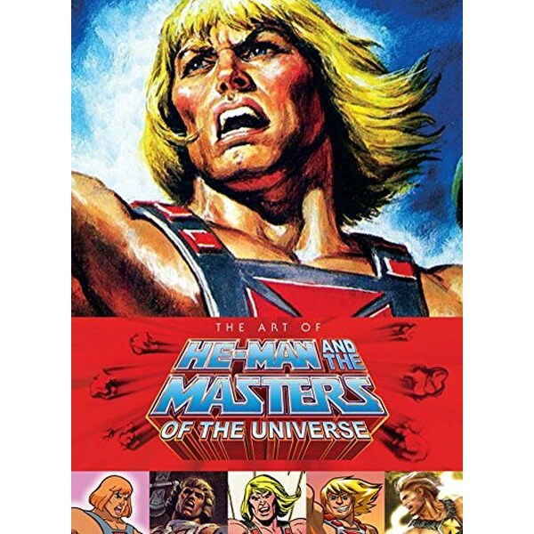 The Art of He Man and the Masters of the Universe Hardcover Book - multi