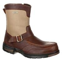 Shop Georgia Boot Men S Gb00157 3 Quot Athens Moc Toe Oxford