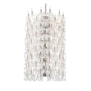 "Eurofase Lighting 33763 Ferrero 108 Light 42"" Wide Crystal Chandelier (2 options available)"