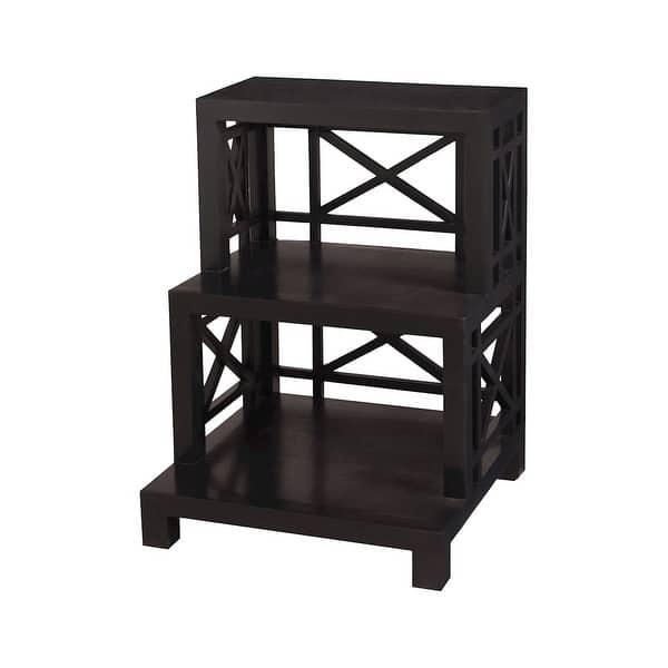 "Shop GuildMaster 6216505 22"" Wide 3 Shelf Mahogany Bookcase"