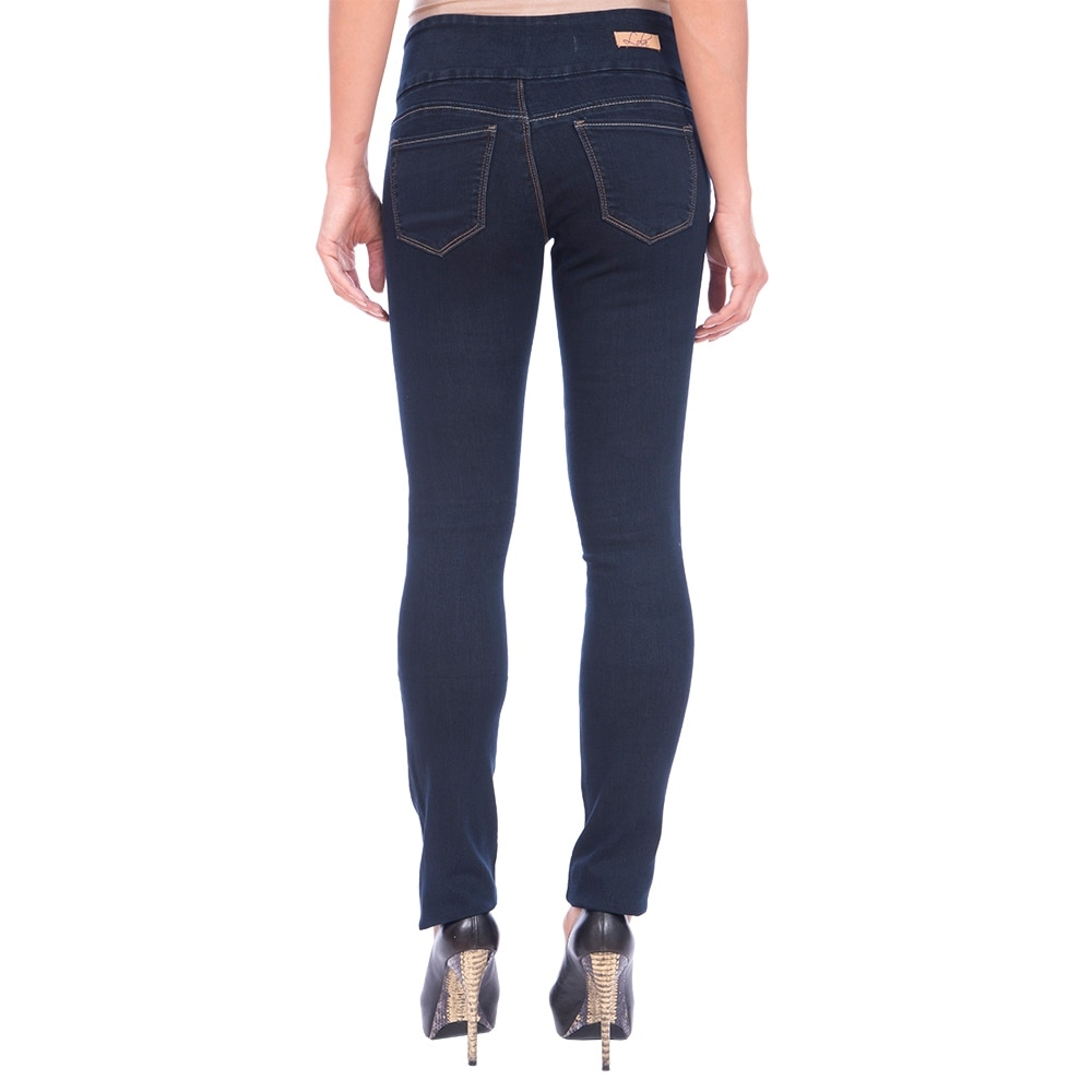 Lola Pull On Straight Jeans, Catherine-RB - Thumbnail 1