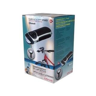 Craig Activity & Bike Bluetooth Speaker with Flashlight - Pack of 6