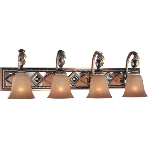 Minka Lavery ML 6744 4 Light Bathroom Vanity Light from the Aston Court Collection