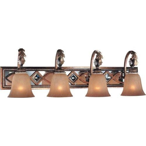 Bathroom Light Fixtures Overstock minka lavery ml 6744 4 light bathroom vanity light from the aston