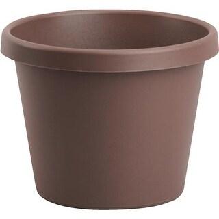 "Bloem Apopka 12"" Chocolate Poly Pot 50312CH Unit: EACH"