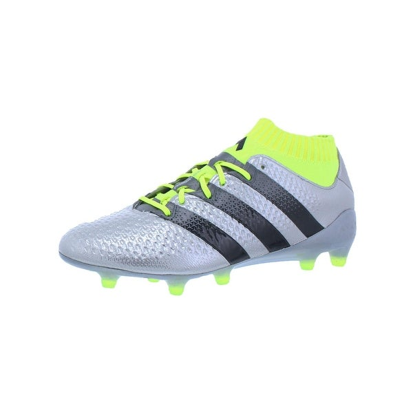 outlet store 9bb25 da0c9 Adidas Mens Ace 16.1 Primeknit FG Cleats Non Stop Grip Athletic - 7.5  medium (d