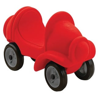Small People Red Riding Car