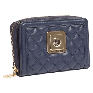 Moschino JC5500 0751 Navy Blue Compact Wallet