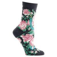 Women's Witches' Garden and Apothecary Floral Socks - Cotton - Garden Of Eden - Medium