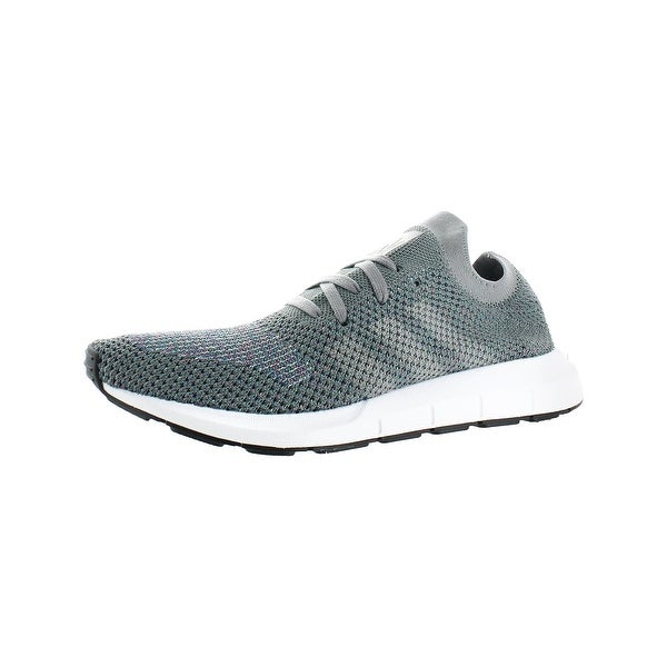 7263b12709194 adidas Originals Mens Swift Run Running Shoes Primeknit Gray 13 Medium (D)  - 13