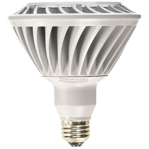 GE 26w PAR38 LED Bulb Dimmable Narrow Flood 1500Lm Warm White Lamp