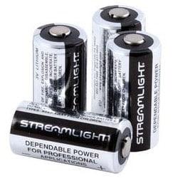 Streamlight Flashlight 3V CR123 Lithium Batteries Pack of 12