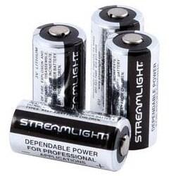 Streamlight Flashlight 3V CR123 Lithium Batteries